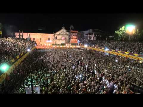 Cebu Sinulog Mass at the Basilica del Santo Nino