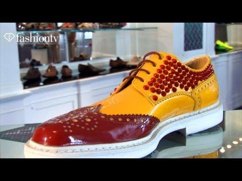 Cesare Paciotti Shoe Presentation