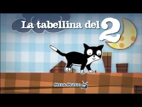 TABELLINA DEL 2 - La canzoncina della tabellina del 2 - Canzoni per bambini Mela Music