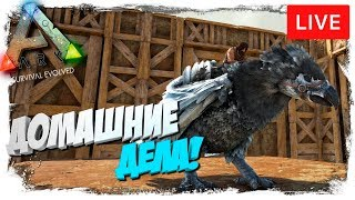 🦎 Ark: Survival Evolved - 10.06 - Scorched Earth! Домашние дела!