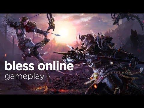 Bless Online Gameplay  2018 MMORPG