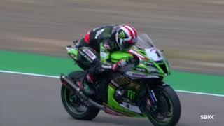 Overtakes for the victory from Jonathan Rea at Teruel!