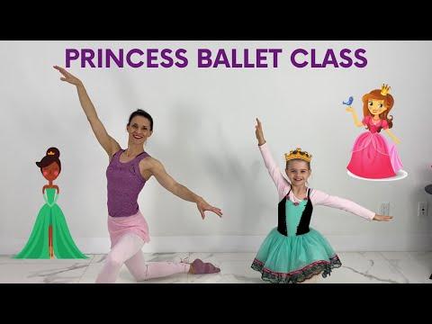 Ballet Class For Kids | Princess Ballerina Ballet For Kids (Age 3-7)