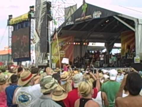 Kid Rock Detroit Rider/Cowboy Medley @ Jazz Fest 2011