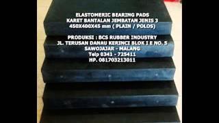 Bearing Elastomeric strip