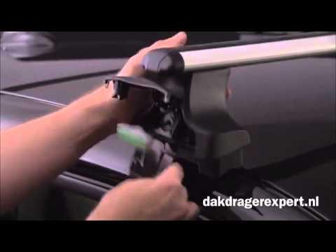 Goede Thule dakdragers 754 monteren (voor auto's met gladdak) - YouTube HP-29