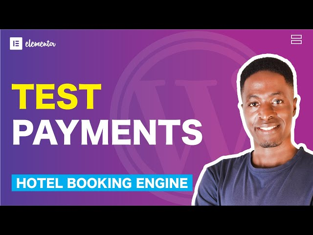 How To Enable Test Payments, Payment on Arrival, Direct Bank Transfer on Hotel Booking Website