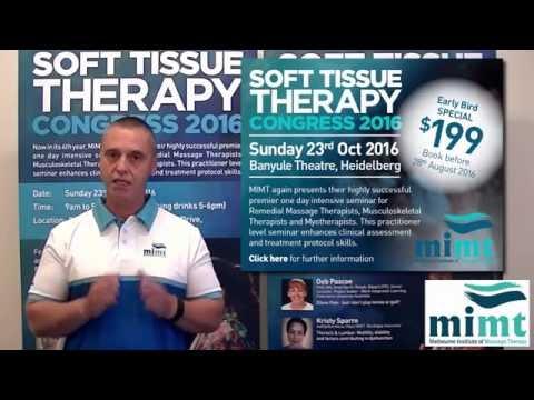MIMT- Massage School Melbourne | Soft Tissue Therapy Congress 2016 | Australia