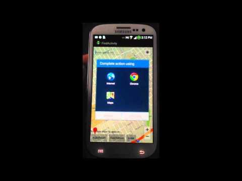 Android individual App demo - GasUemit