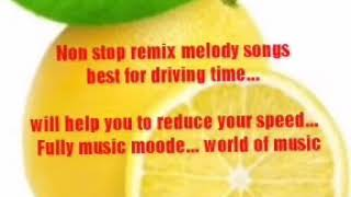 Malayalam tamil non stop remix melody song.  Best for driving