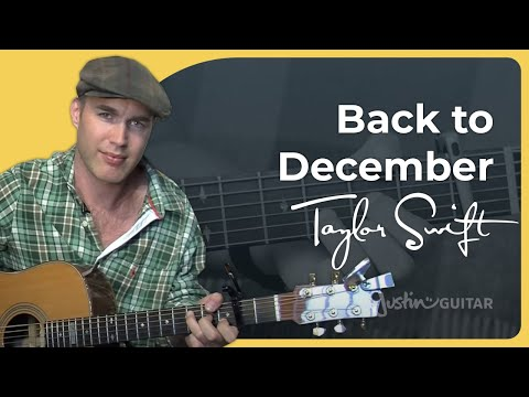 Back To December - Taylor Swift (Easy Songs Beginner Guitar Lesson BS-406) How to play