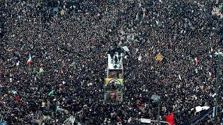 Masivo homenaje a Soleimani en Irán entre amenazas de Estados Unidos