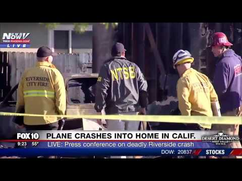 DEADLY: 3 People Killed As Plane Crashes into Riverside Home - Press Conference (FNN)