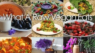 What A Raw Vegan Eats In The Summer