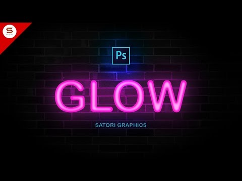 How To Make NEON TYPE In PHOTOSHOP
