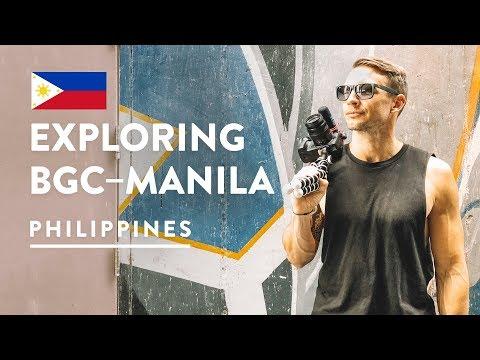 WE COULD LIVE HERE! 🇵🇭 BGC MANILA   Philippines Vlog 108, 2018   Bonifacio Global City