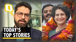QWrap: Priyanka Named Cong Gen Secy, India Beat NZ By 8 Wickets