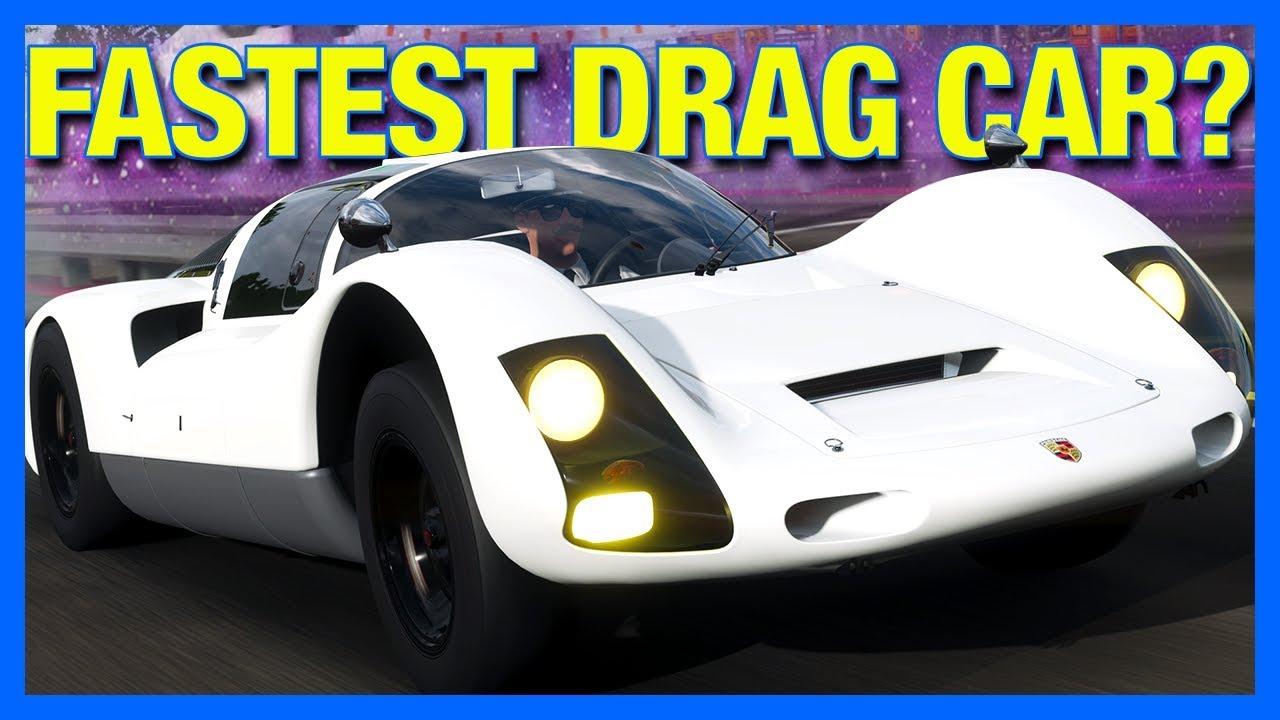 Forza Horizon 4 : Is This The New Fastest Drag Car?!? (Porsche 906) thumbnail