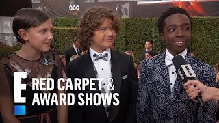 """Stranger Things"" Kid Stars Attend Their First Emmys! 