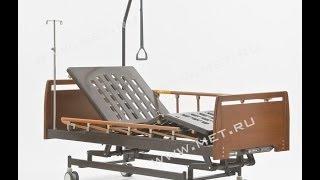 Медицинская кровать механическая с регулировкой высоты E-31 WOOD(Подробную информацию можно получить на нашем сайте http://www.met.ru/goods/4294/ 4-х секционная кровать снабжена винтовы..., 2013-12-24T14:01:53.000Z)