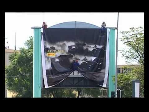 Pirelli Outdoor Advertising/LED Installation