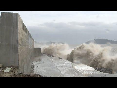 Typhoons Talim, Doksuri Strengthening, Bringing Rainstorms to south, east China