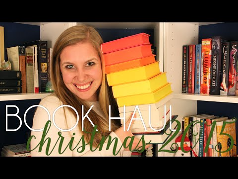 BOOK HAUL | What I Got for Christmas 2015