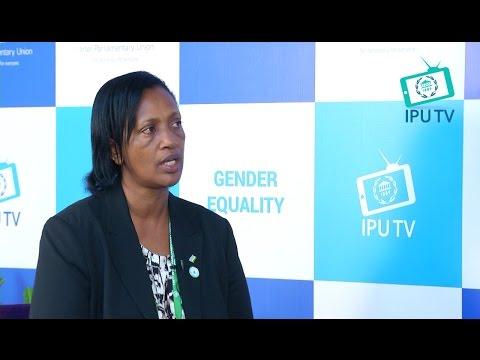 Gakuba Jeanne d'Arc an honorable Senator, Rwanda Parliament