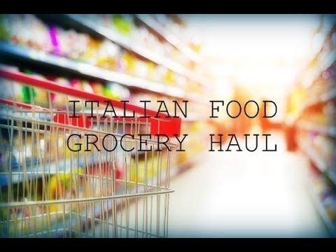 ITALIAN GROCERY HAUL | LIDL ITALIA