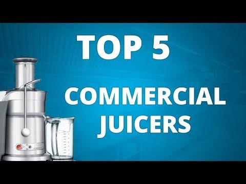 Top 5 Best Commercial Juicer - Professional Juice Pressers For Juice Bars