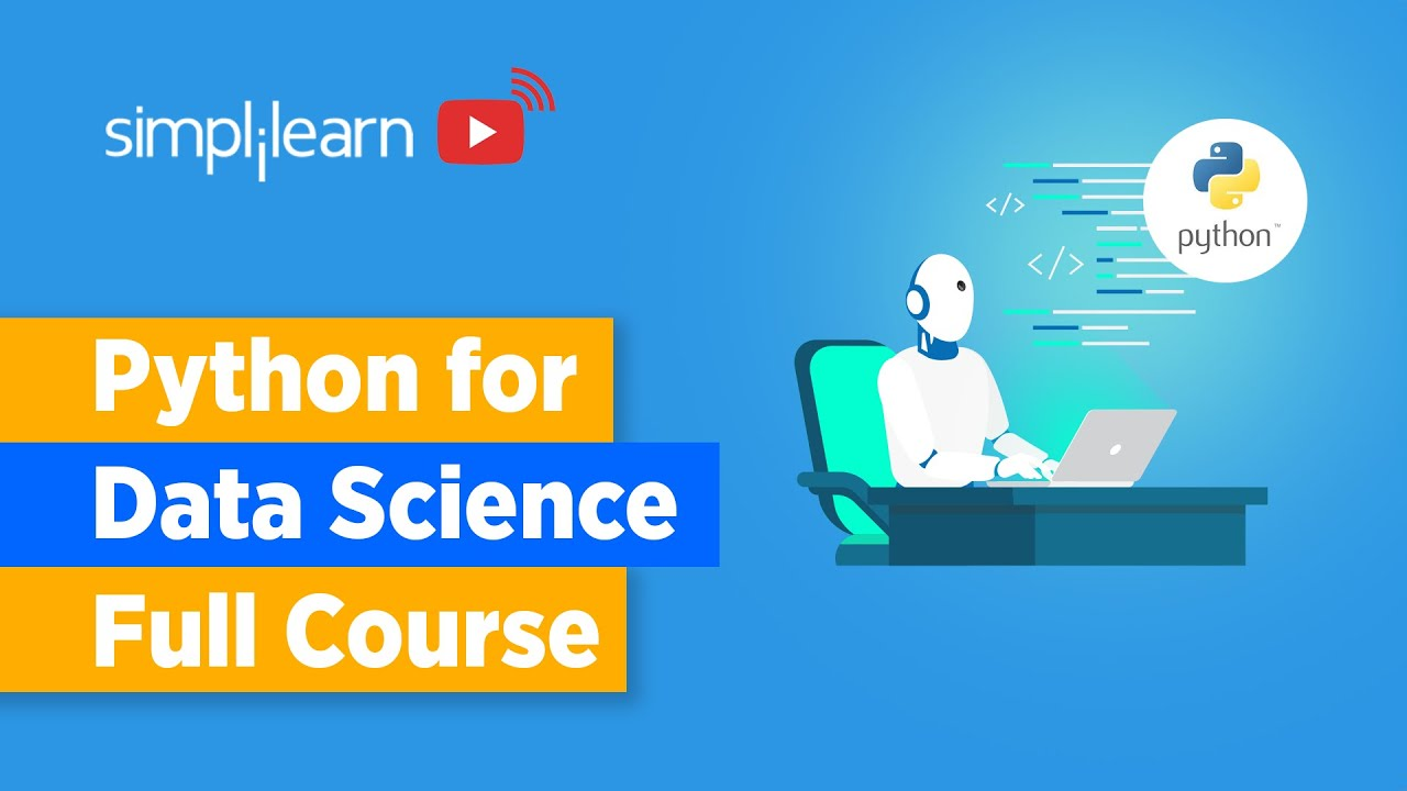 Python For Data Science Full Course   Data Science With Python Full Course In 12 Hours