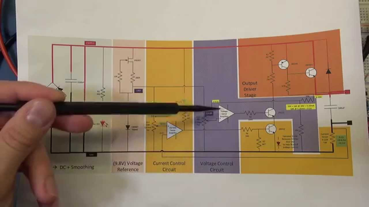 Diy Bench Power Supply 5 Circuit Design And Operation