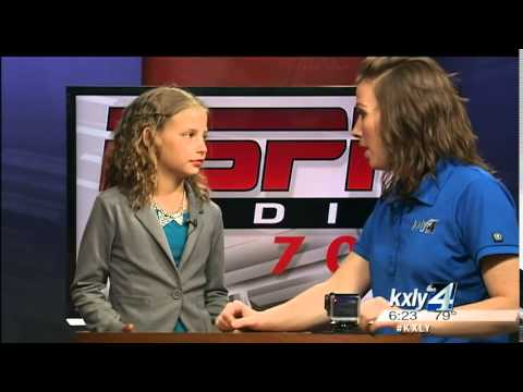 Dani Goes To Sportscaster Camp