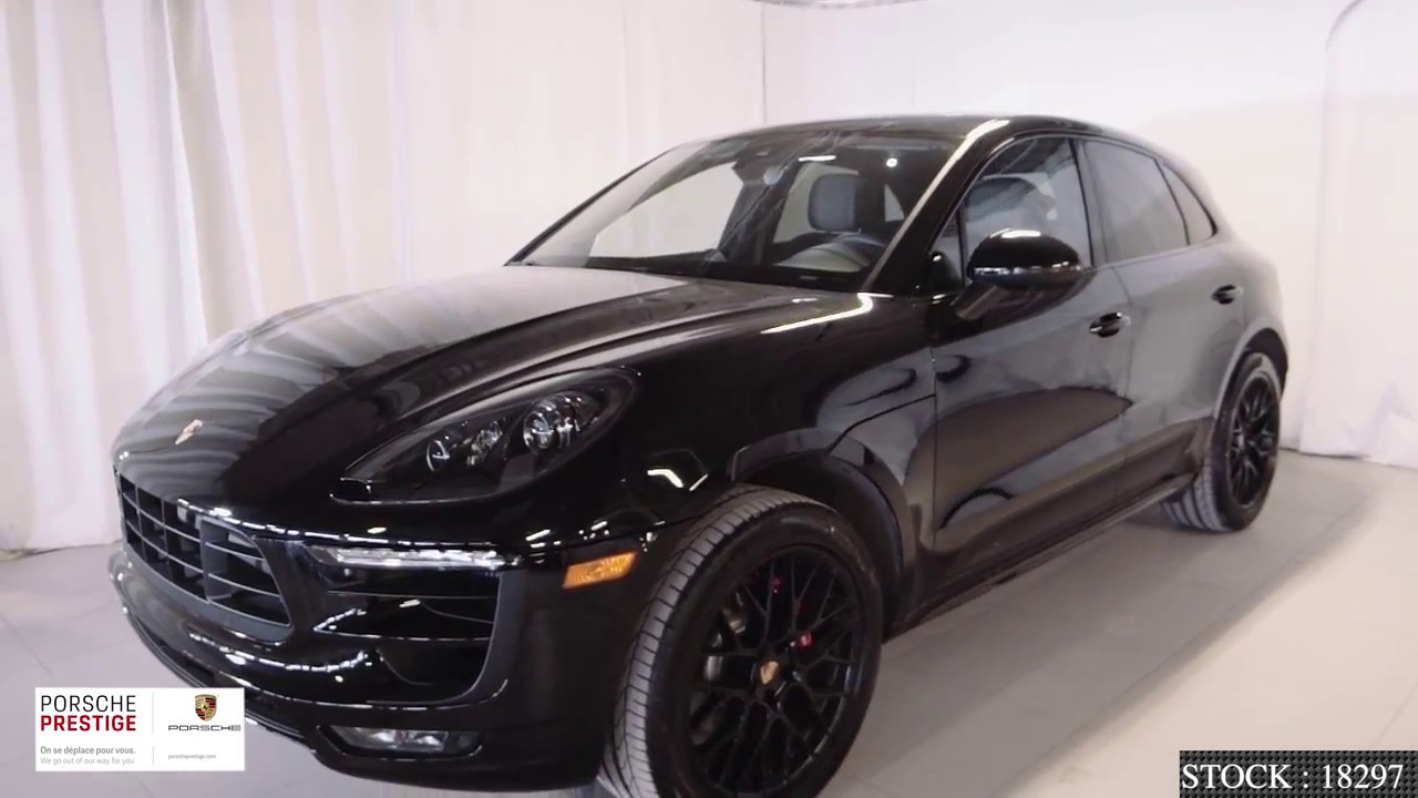 Black On Black Gts Package 2018 Porsche Macan Gts Youtube