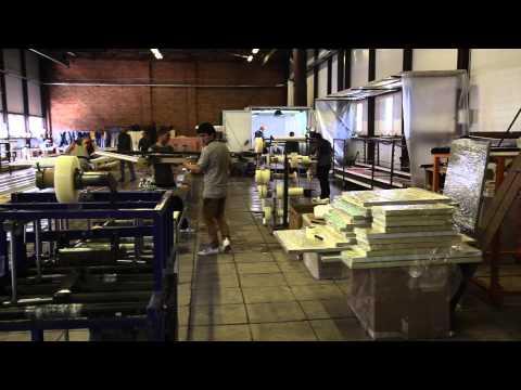 Окраска готовых изделий пластиковых окон из ПВХ (Окна цвета Фейко)