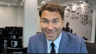 EDDIE HEARN ON CROLLA v LINARES UNIFICATION, BROOK v GOLOVKIN, ANTHONY JOSHUA DATE, OLYMPICS & MORE!