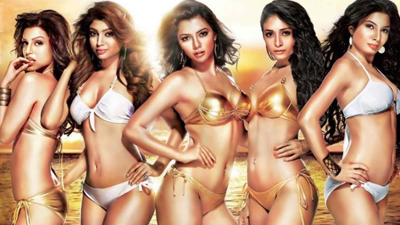 Ethnic bikini calendars