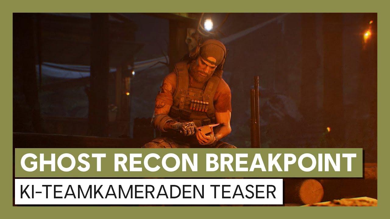 Ghost Recon Breakpoint: KI-Teamkameraden Teaser | Ubisoft