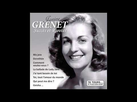 Janine Grenet - Si Je Dois Payer De Ma Vie