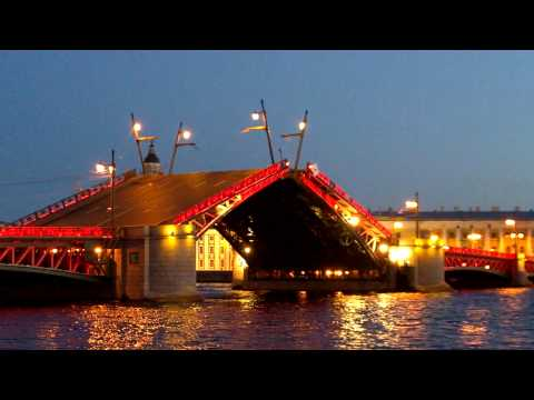 Разводной мост Санкт-Петербурга