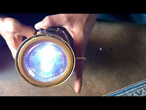 Low Price Solar Emergency Light Cum Power bank, solar lantern  [HINDI]