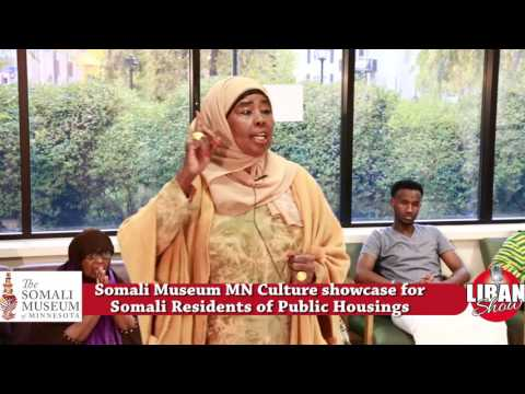 Somali Museum MN Culture showcase for Somali Residents of Public Housings