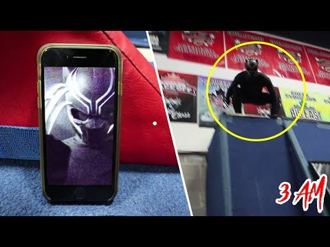 CALLING BLACK PANTHER ON FACETIME AT 3 AM!! THE REAL ONE CAME TO US!!