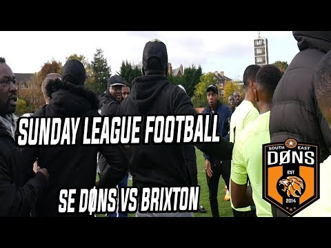 SE DONS vs BRIXTON 'South East vs South West London'