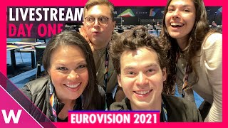 Eurovision 2021: Rehearsals livestream  Day 1 (Semi-Final 1 Lithuania to Sweden)