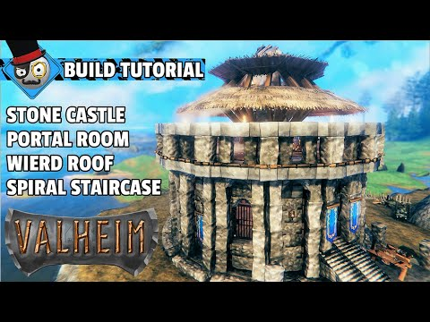 Download Valheim - How to Build a Castle With a Portal Room (Stone Building Guide)