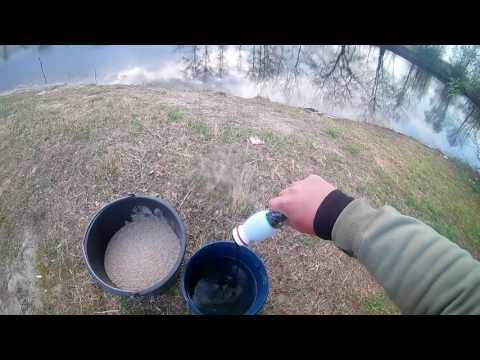Ловля плотвы на течении - на глухую снасть с поплавком Cralusso Bolo 8г. р.Сула