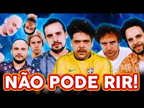 NÃO PODE RIR! com CHOQUE DE CULTURA(Rogerinho do Ingá, Julinho da Van e Maurílio dos Anjos)