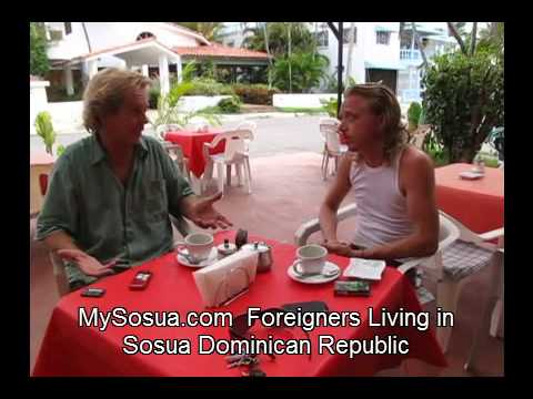 Frank a Sosua Expat Interviewed - Out Sweden 7 Years - In Dominican Rep 5 Years