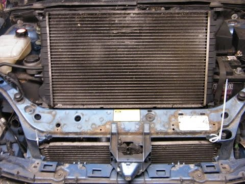 Ford Focus Radiator Change (air conditioning model)